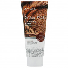Пенка для умывания 3W Clinic Brown Rice Foam Cleansing