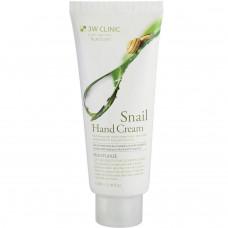 Увлажняющий крем для рук 3W Clinic Moisturizing Snail Hand Cream