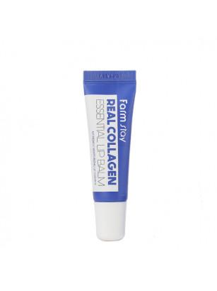 Увлажняющий бальзам для губ с коллагеном FarmStay Real Collagen Essential Lip Balm