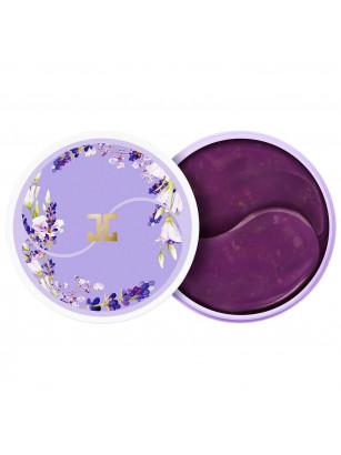 Успокаивающие патчи для век с лепестками лаванды Jayjun Lavender Tea Eye Gel Patch