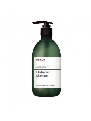 Натуральный шампунь для чувствительной кожи с комплексом трав Manyo Herb Green Shampoo