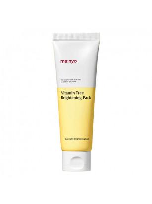Ночная осветляющая маска с облепихой Manyo Vitamin Tree Brightening Pack