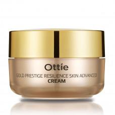 Увлажняющий крем для упругости кожи лица Ottie Gold Prestige Resilience Advanced Cream