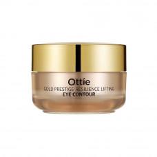 Увлажняющий крем для кожи вокруг глаз против морщин Ottie Gold Prestige Resilience Lifting Eye Contour