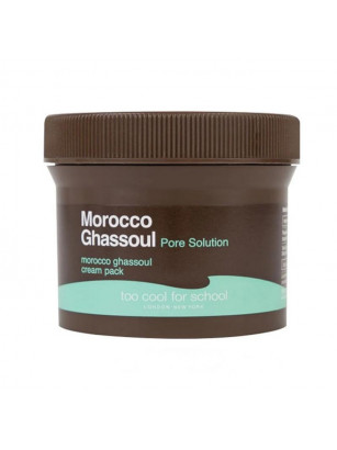 Очищающая маска для лица с марокканской глиной Too Cool For School Morocco Ghassoul Cream Pack