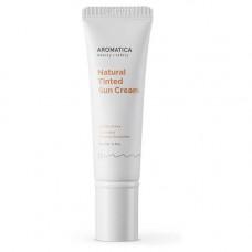 Оттеночный солнцезащитный крем для лица Aromatica Natural Tinted Sun Cream Light Beige SPF30/PA++