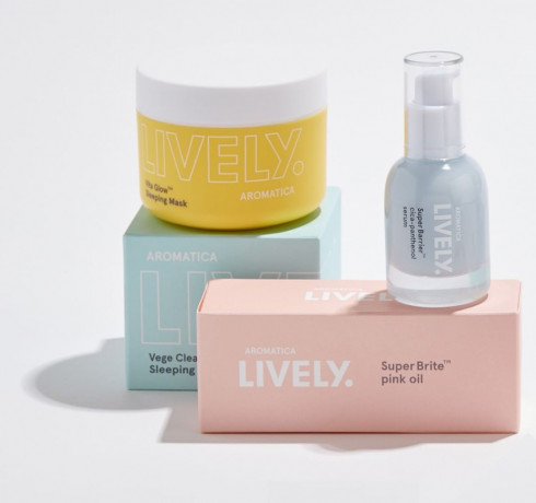 Ночная витаминная маска для сияния кожи Aromatica Lively Vita Glow™ Sleeping Mask