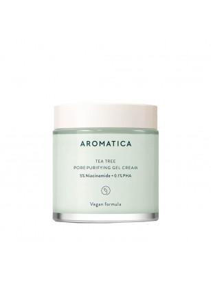 Балансирующий крем-гель для жирной кожи Aromatica Tea Tree Pore Purifying Gel Cream
