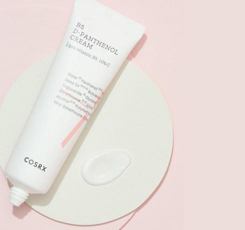 Восстанавливающий крем для лица с пантенолом COSRX B5 D-panthenol Cream