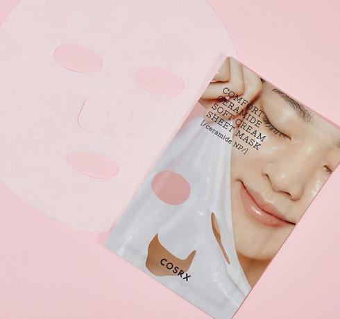 Кремовая тканевая маска с керамидами COSRX Balancium Comfort Ceramide Soft Cream Sheet Mask