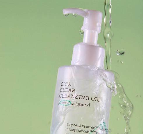 Гидрофильное масло COSRX Cica Clear Cleansing Oil