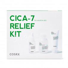 Набор для ухода за чувствительной кожей COSRX Pure Fit Trial Kit