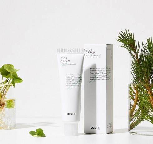 Успокаивающий крем для чувствительной кожи Cosrx Pure Fit Cica Cream
