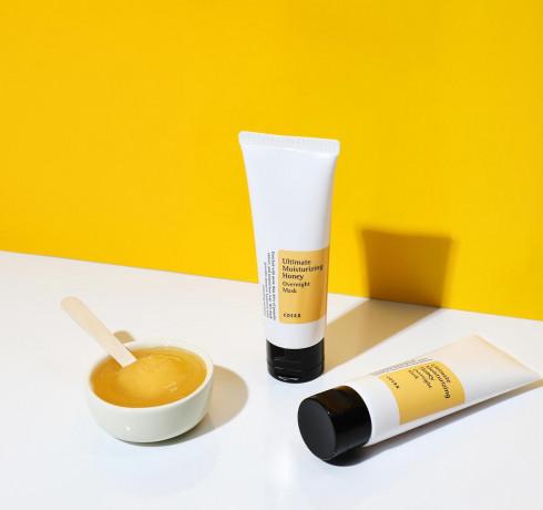 Медовая ночная маска для лица Cosrx Ultimate Moisturizing Honey Overnight Mask