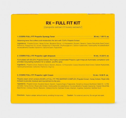 Набор для сияния кожи с прополисом COSRX Honey Glow Propolis Trial Kit