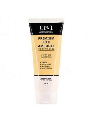Несмываемая шёлковая сыворотка для волос CP-1 Premium Silk Ampoule