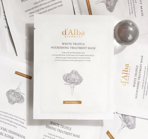 Питательная маска с белым трюфелем d'Alba White Truffle Nourishing Treatment Mask