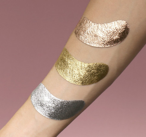 Патчи для зоны вокруг глаз Double Dare OMG! Foil Eye Patch - Rose Gold