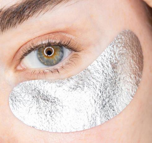 Патчи для зоны вокруг глаз Double Dare OMG! Foil Eye Patch - Pearl