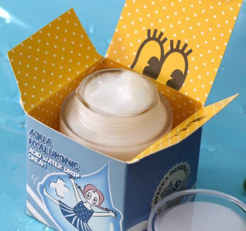 Увлажняющий гиалуроновый крем Elizavecca Aqua Hyaluronic Acid Water Drop Cream