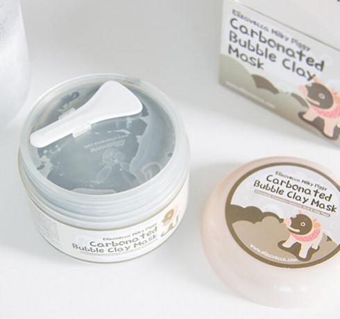 Очищающая глиняно-пузырьковая маска Elizavecca Carbonated Bubble Clay Mask