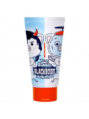 Черная кислородная маска для очищения пор Elizavecca Hell-Pore Bubble Blackboom Pore Pack