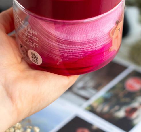 Очищающие винные пилинг-пэды Elizavecca Hell-Pore Perfect Wine Sparkling Peeling Pad