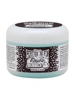 Пептидный бабл-крем Elizavecca Peptide 3D Fix Elastic Bubble Facial Cream