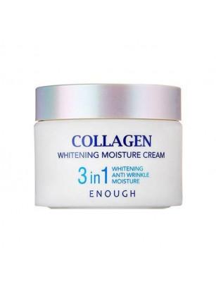 Увлажняющий крем Enough Collagen 3 in 1 Whitening Moisture Cream