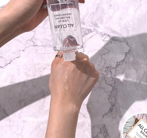 Лёгкий увлажняющий тонер с pH 5.5 Heimish All Clean Low pH Balancing Vegan Toner