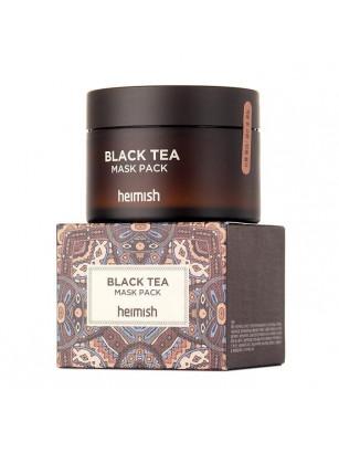 Маска для лица против отеков с экстрактом черного чая Heimish Black Tea Mask Pack