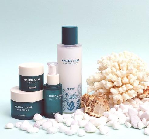 Питательный тонер с экстрактом морских водорослей Heimish Marine Care Cream Toner