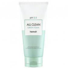 Пенка для умывания с pH 5.5 Heimish All Clean Green Foam