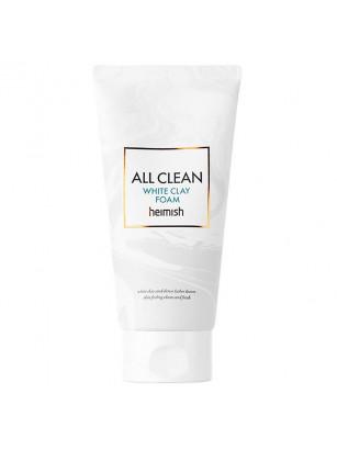 Пенка с белой глиной для глубокого очищения пор Heimish All Clean White Clay Foam