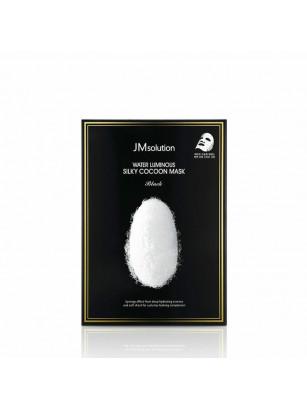 Маска для упругости кожи с протеинами шелка JMsolution Water Luminous Silky Cocoon Mask Black