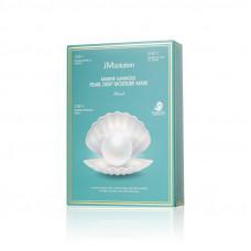 Трёхшаговый увлажняющий набор с жемчугом JMsolution Marine Luminous Pearl Deep Moisture Mask