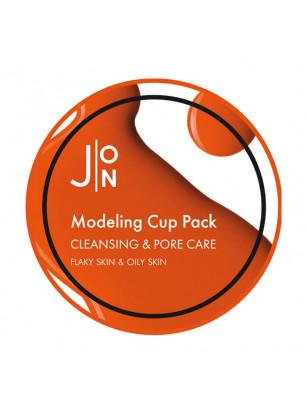 Альгинатная маска J:ON Cleansing & Pore Care Modeling Pack