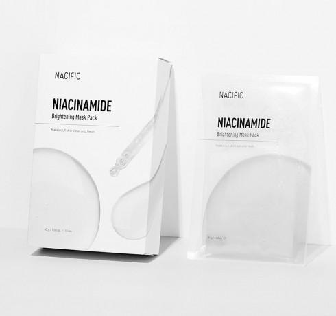 Маска для выравнивания тона Nacific Niacinamide Brightening Mask Pack