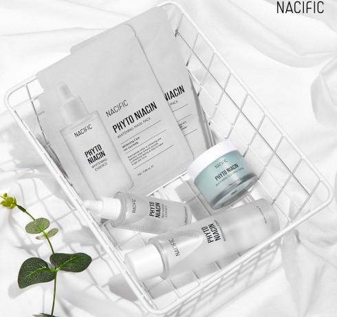 Осветляющая ночная маска Nacific Phyto Niacin Whitening Sleeping Mask (Special Edition + миниатюра 10г в подарок)