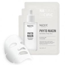 Отбеливающая маска Nacific Phytonian Whitening Mask Pack