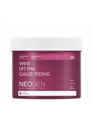 Винные пилинг-пэды с комплексом кислот Neogen Dermalogy Wine Lift PHA Gauze Peeling