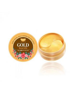 Гидрогелевые патчи с золотом и маточным молочком Petitfee Koelf Gold & Royal Jelly Eye Patch