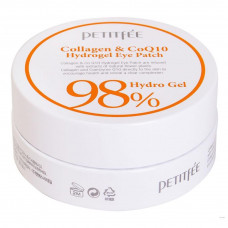 Гидрогелевые патчи с коллагеном Petitfee Collagen&CoQ10 Hydrogel Eye Patch