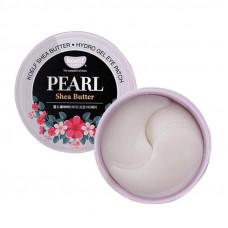 Гидро-гелевые патчи для глаз с маслом ши и жемчугом Petitfee Koelf Pearl & Shea Butter Eye Patch