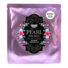 Гидрогелевая маска для лица с маслом ши и жемчужной пудрой Petitfee Pearl & Shea Butter Mask
