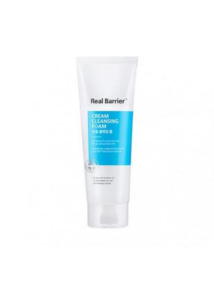 Пенка-крем для деликатного очищения с нейтральным pH Real Barrier Cream Cleansing Foam
