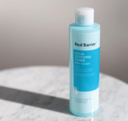 Успокаивающий тонер для увлажнения кожи Real Barrier Aqua Soothing Toner