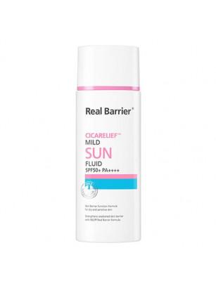 Солнцезащитный крем Real Barrier Cicarelief Mild Sun Fluid SPF50 PA++++
