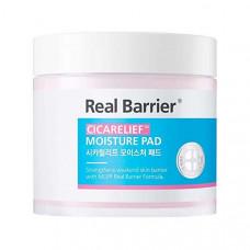 Пэды для чувствительной кожи Real Barrier Cicarelief Moisture Pad