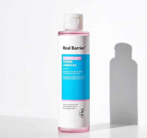 Успокаивающий тонер для чувствительной кожи Real Barrier Cicarelief Toner